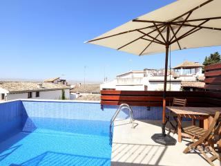 San Jose Penthouse. 3 bedrooms, terrace pool - Granada vacation rentals