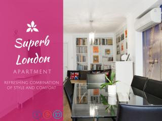 EXTREMELY CENTRAL➤huge flat➤A/C—3½ Bath—easy entry - London vacation rentals