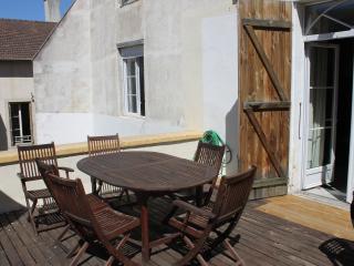 Appartement 125 M2 avec terrasse - Chalon-sur-Saone vacation rentals
