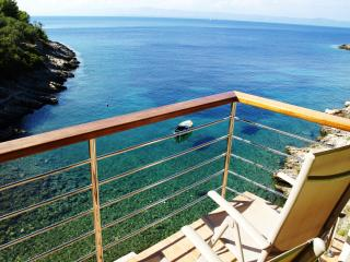 Isolated beach house 6 meters from the sea - Blato vacation rentals