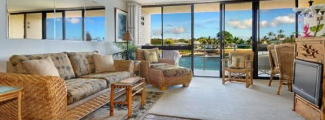 Kuhio Shores 208 Beautiful 1bd oceanfront with stunning ocean views. Next door to Lawai Beach. Free car with stays 7 nts or more* - Image 1 - Poipu - rentals