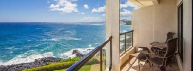 Poipu Shores 304A Gorgeous, renovated oceanfront 2 bed/2 bath gem, heated Pool! Free car with stays 7 nts or more* - Image 1 - Poipu - rentals