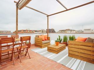 Marina Vintage Apartment with Terrace (1BR) - Barcelona vacation rentals