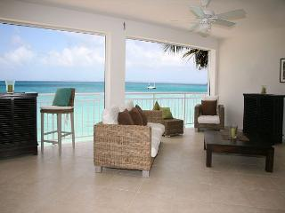 BEACHFRONT Two Bedroom Upscale Condo on Grand-Case Beach - Grand Case vacation rentals