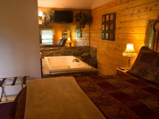 Enchanted Forest Resort: Secluded Mountain Top Cabin 1 - Eureka Springs vacation rentals