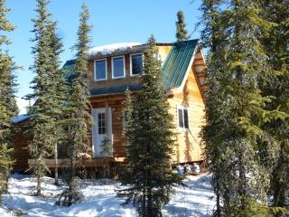 Enjoy our Aurora Pond Cabin and our Winter Dog Sled Rides - Fairbanks vacation rentals