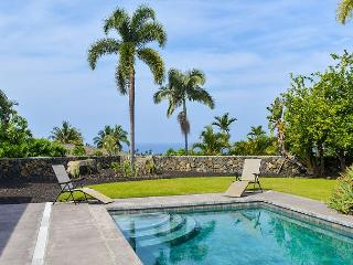 AC Included, Island Home in Gated Community with Pool & Ocean Views! - Kailua-Kona vacation rentals