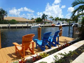 Luxury 2-story Waterfront Home With Heated Pool - Deerfield Beach vacation rentals