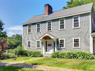 Dog-friendly waterfront home with grand piano and fireplace! - Boothbay vacation rentals