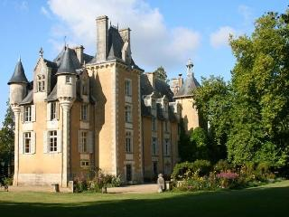 Chateau Allée uxury chateau rental in Potou loire valley  france - Rent chateau - Chauvigny vacation rentals