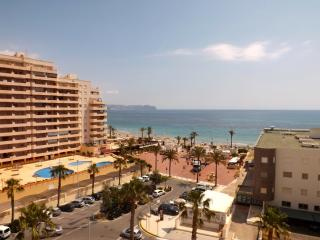 NEW APARTMENT FIRST LINE OVER THE SEA - Calpe vacation rentals