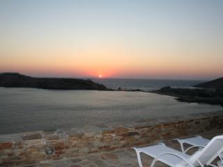 Luxurius new seafront villa, sea and sunset views - Ios vacation rentals