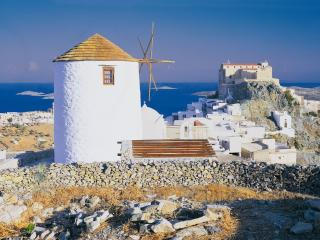 Romantic 1 bedroom Windmill in Ano Syros - Ano Syros vacation rentals