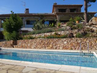Stunning hilltop villa, with panoramic sea views - Palamos vacation rentals