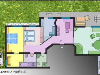 Ferienwohnung Scheibe, 100qm, Bad/WC + Dusche WC - Neustift im Stubaital vacation rentals