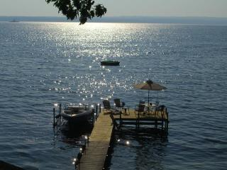 Waterfront w/Hot Tub on Wine Trail, Pets - 1246 - Watkins Glen vacation rentals