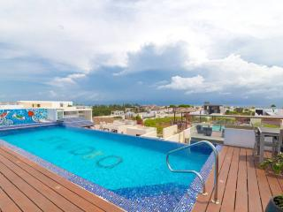 Flat with Great Terrace and Pool - SO203 - Playa del Carmen vacation rentals
