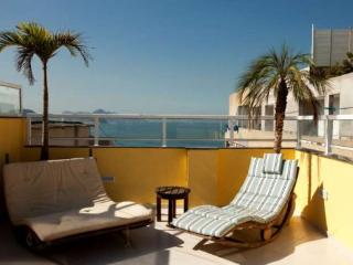 Nice Modern 3 bedroom, 3 bathroom Penthouse in Copacabana With Large Terrace and Amazing Ocean View - Ipanema vacation rentals