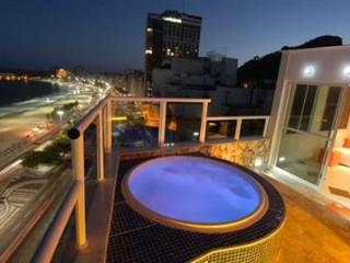 Luxurious Furnished Penthouse with a Private Pool and Ocean View in Copacabana! - Rio de Janeiro vacation rentals