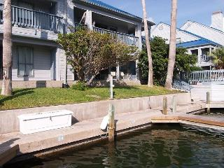 Penthouse condo overlooking the canal and the pool! - Corpus Christi vacation rentals
