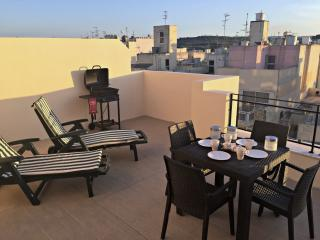 Modern Penthouse 2 min from the Sea - Bugibba vacation rentals