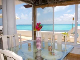 Beach Front Pent House Casa Bonita and Villas - Isla Mujeres vacation rentals