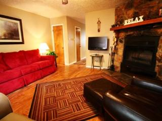 Valley Condos #122 - WiFi, Fireplace-Wood, Washer/Dryer, Community Hot Tubs, Playground, Creek - Red River vacation rentals