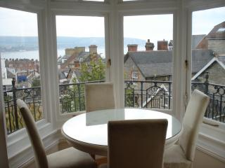 Modern Victorian apartment with sea views - Swanage vacation rentals