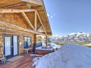 Cowboy Cabin 13 Bandit Way: Private Hot Tub, Views, Ski-In/Out Access! - Big Sky vacation rentals