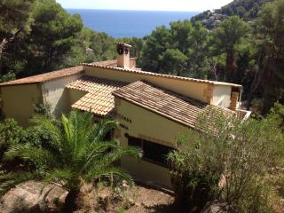 Private 4 bed Mallorca villa with pool & sea view - Canyamel vacation rentals