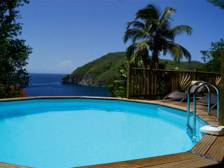 Villa Palma - sea ​​view and private pool - Deshaies vacation rentals