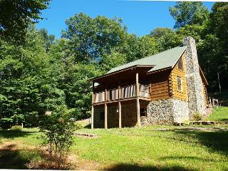 Beautiful Log Cabin with WiFi & Fire Pit! Labor Day Weekend Available! - Warrensville vacation rentals