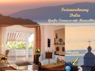 Ferienwohnung Dalia,große Terrasse mit Meeresblick - Cres vacation rentals