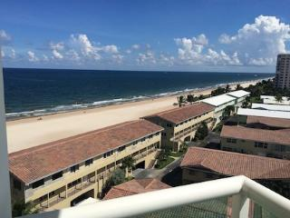 2/2 ON THE BEACH! w/ Fabulous Ocean View in LBTS - Lauderdale by the Sea vacation rentals