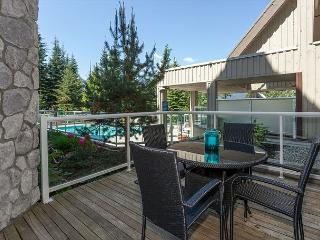 Upgraded ground floor condo with large patio facing pool area. - Whistler vacation rentals