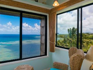 Sealodge G9: Amazing views plus privacy in this top floor 1br/1ba - Princeville vacation rentals