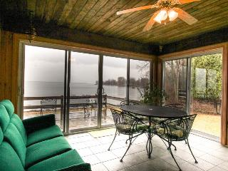 Lakefront home w/amazing water views, private dock, sauna, & 17 acres - North Hero vacation rentals