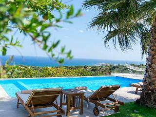 Infinity Pool Villa Vista,Sea Views 1km From Beach - Atsipópoulon vacation rentals