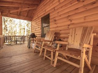 Aska Woodlands - Stay in this beautiful pet friendly cabin with fenced yard and gated porch - Blue Ridge vacation rentals