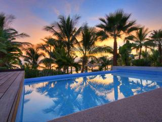 Resort Villa on beach with private pool & staff - Punta de Mita vacation rentals