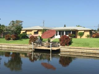 4 Bedroom Home on a Canal 13 Minutes to the River - Cape Coral vacation rentals