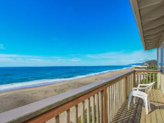 Rustic, dog-friendly oceanfront home with fantastic views - Gleneden Beach vacation rentals