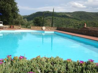 countryhouse for 2 with private pool in Tuscany - Pergine Valdarno vacation rentals