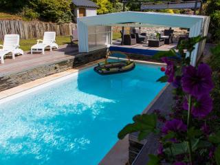 Piscine privée, chauffée toute l'année et Aquabike - Elliant vacation rentals