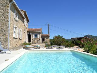 Saint-Ambroix Gard, Charming stone house 8p. private pool - Saint-Ambroix vacation rentals