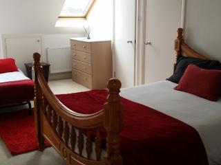 family room with private shower room - London vacation rentals