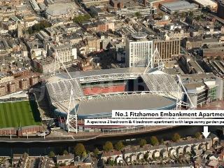 Garden Apartment - 1 FITZHAMON EMBANKMENT - Cardiff vacation rentals