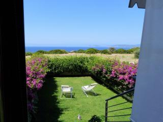 Terrace and garden overlooking the sea - Alghero vacation rentals