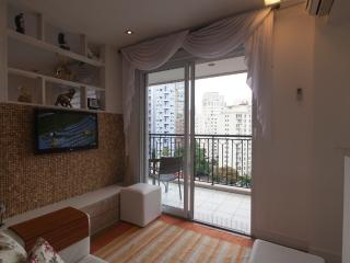 Romantic 1 bedroom Apartment in Santo Andre with Balcony - Santo Andre vacation rentals