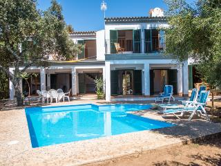 Spacious family house with private pool,garage,BBQ - Sa Pobla vacation rentals
